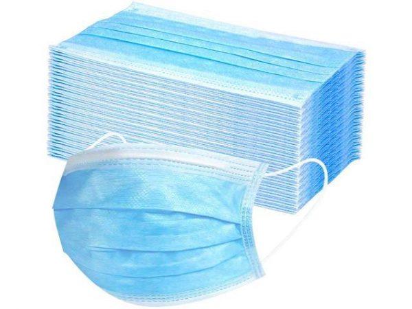 3 vrstvové ochranné rúško jednorázové balenie 50ks - Ochranné rúška a  dezinfekcia